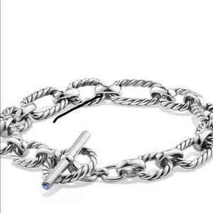 ⭐️David Yurman Silver Cushion Chain Bracelet⭐️